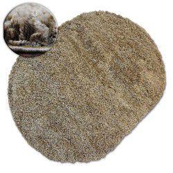 Килим овальний SHAGGY GALAXY 9000 яскравий коричневий