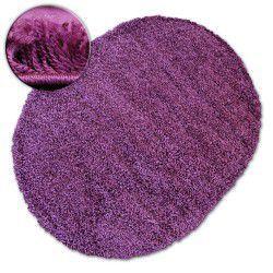 Килим овальний SHAGGY GALAXY 9000 фіолетовийowy