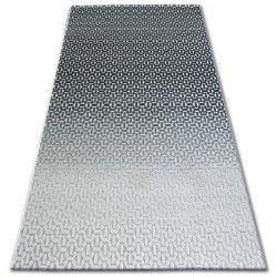 Килим лисицяBOA 27208/356 чорний сірий
