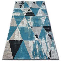 Килим лисицяBOA 27216/754 трикутники бірюзовий