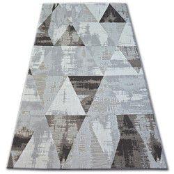 Килим ЛІСАБОН 27216/655 трикутники коричневий