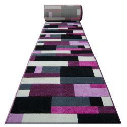 Килим Лущув HEAT-SET FRYZ PILLY - 8403 чорний фіолетовий