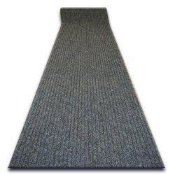 ТОВСТИЙ придверний килим на погонні метри TRAPPER 07 сірий