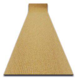 ТОВСТИЙ придверний килим на погонні метри TRAPPER 05 бежевий