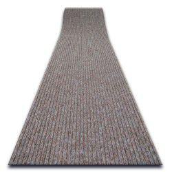 ТОВСТИЙ придверний килим на погонні метри TRAPPER 012 коричневий