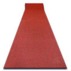 Придверний килим на погонні метри LIVERPOOL 040 червоний