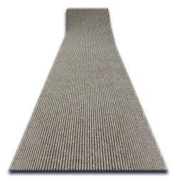 Придверний килим на погонні метри LIVERPOOL 060 яскравий коричневий