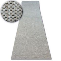 Килим Лущув SIZAL FLOORLUX модель 20433 срібло гладкий