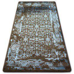 Килим AKRYL MANYAS 0920 коричневий/блакитний