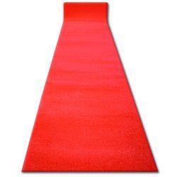 Килим Лущув SKETCH червоний - Гладкий однорідний - Для шлюбу, для церкви
