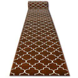 Килим Лущув BCF BASE 3770 коричневий Марокканский візерунок