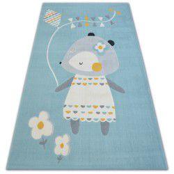Килим PASTEL 18403/032 - миша синій