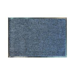 Придверний килим прорезинений CLEAN антрацит
