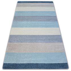 Dywan NORDIC PASY krem/niebieski G4577