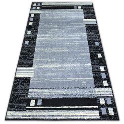Килим BCF BASE CHASSIS 3881 RAMKA сірий/чорний