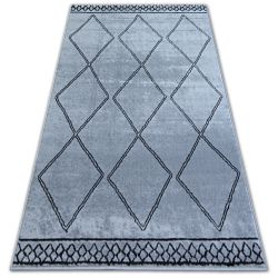 Килим BCF BASE ETNO 3964 діаманти сірий/чорний