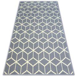 Килим BCF BASE CUBE 3956 квадрати сірий