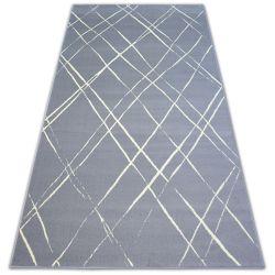 Килим BCF BASE STROKES 3970 квадрати сірий