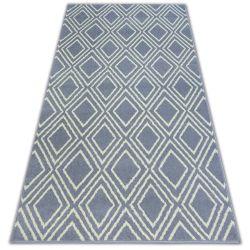 Килим BCF BASE CONTOURS 3957 квадрати сірий