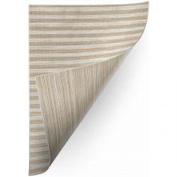 Килим шнуровий двосторонній SIZAL DOUBLE 29203/750 смужки коричневий/бежевий