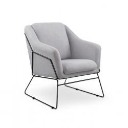 Fotel SOFT 2 яскравий сірий