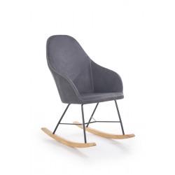 Крісло-качалка LAGOS сірий