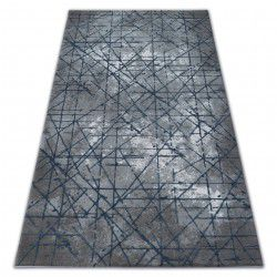 Килим AKRYL VALENCIA 3949 INDUSTRIAL сірий / синій