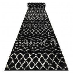 Доріжка килимова BERBER ETHNIC G3802 чорний волохатий
