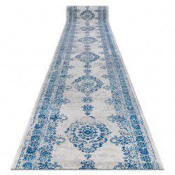 Доріжка килимова VINTAGE 22206063 розетка синій / сірий