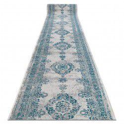 Доріжка килимова VINTAGE 22206064 розетка бірюзовий / сірий