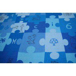 Ковролін dywanowa PUZZLE синій