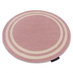 Килим HAMPTON каркас коло рожевий