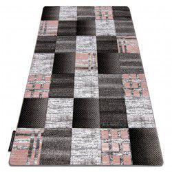 Килим ALTER Siena квадрати шпалери сірий