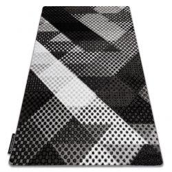Килим INTERO BALANCE 3D Крапки сірий