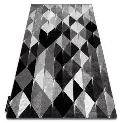 Килим INTERO PLATIN 3D Трикутники сірий