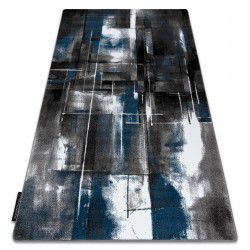 Килим INTERO ART 3D Абстракція синій