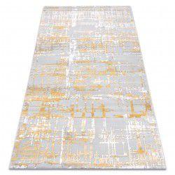 Килим AKRYL DIZAYN 122 жовтий / світло-сірий
