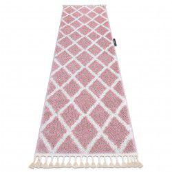Килим, Доріжка BERBER TROIK рожевий - для кухні, передпокою, у коридор