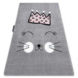 Килим PETIT CAT корона сірий