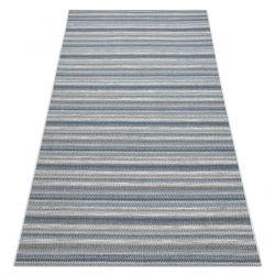 Килим шнуровий SIZAL FORT 36299053 сірий / синій