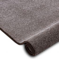 Килимові покриття SAN MIGUEL коричневий 41 рівнина суцільний колір