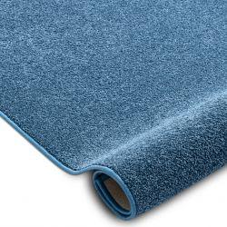 Килимові покриття SANTA FE синій 74 рівнина суцільний колір
