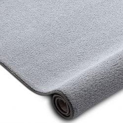 Килимові покриття VELVET MICRO сірий 90 рівнина суцільний колір