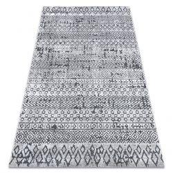 Килим Structural SIERRA G6042 плоский тканий бежевий / крем - Геометричні, етнічні