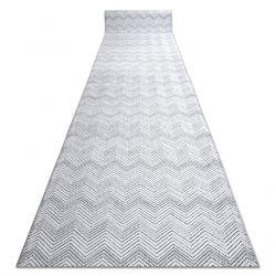 Доріжки Structural SIERRA G5010 плоский тканий сірий - Геометричні, зигзаг