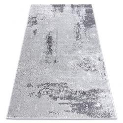сучасний килим MEFE 8731 Vintage - Structural два рівні флісу сірий