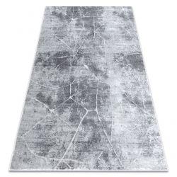 сучасний килим MEFE 2783 Мармур - Structural два рівні флісу сірий