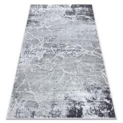 сучасний килим MEFE 6182 бетон - Structural два рівні флісу сірий