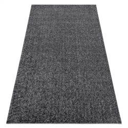 сучасний миється килим ILDO 71181070 антрацит сірий