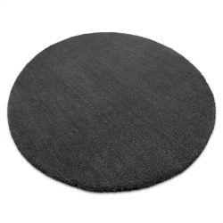 сучасний миється килим LATIO 71351100 коло сірий